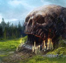 Алтарь бога смерти Гхорра